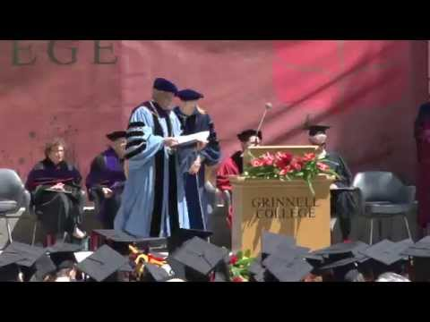 Grinnell College Commencement 2015 — Full Ceremony