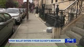 Stray bullet shatters 11-year-old boy`s Bronx bedroom window