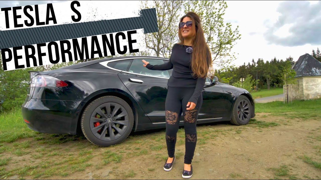 TESLA S PERFORMANCE CRAZY GIRL TEST