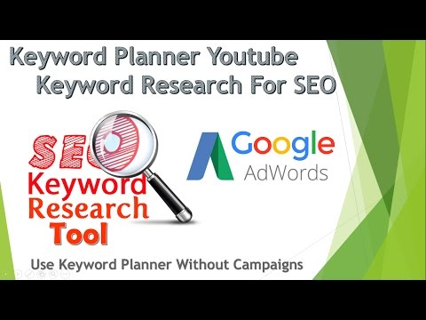 Keyword Planner   Keyword Research for SEO   Keyword Planner Adwords