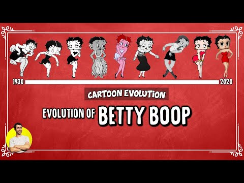 Evolution of BETTY BOOP - 90 Years Explained | CARTOON EVOLUTION