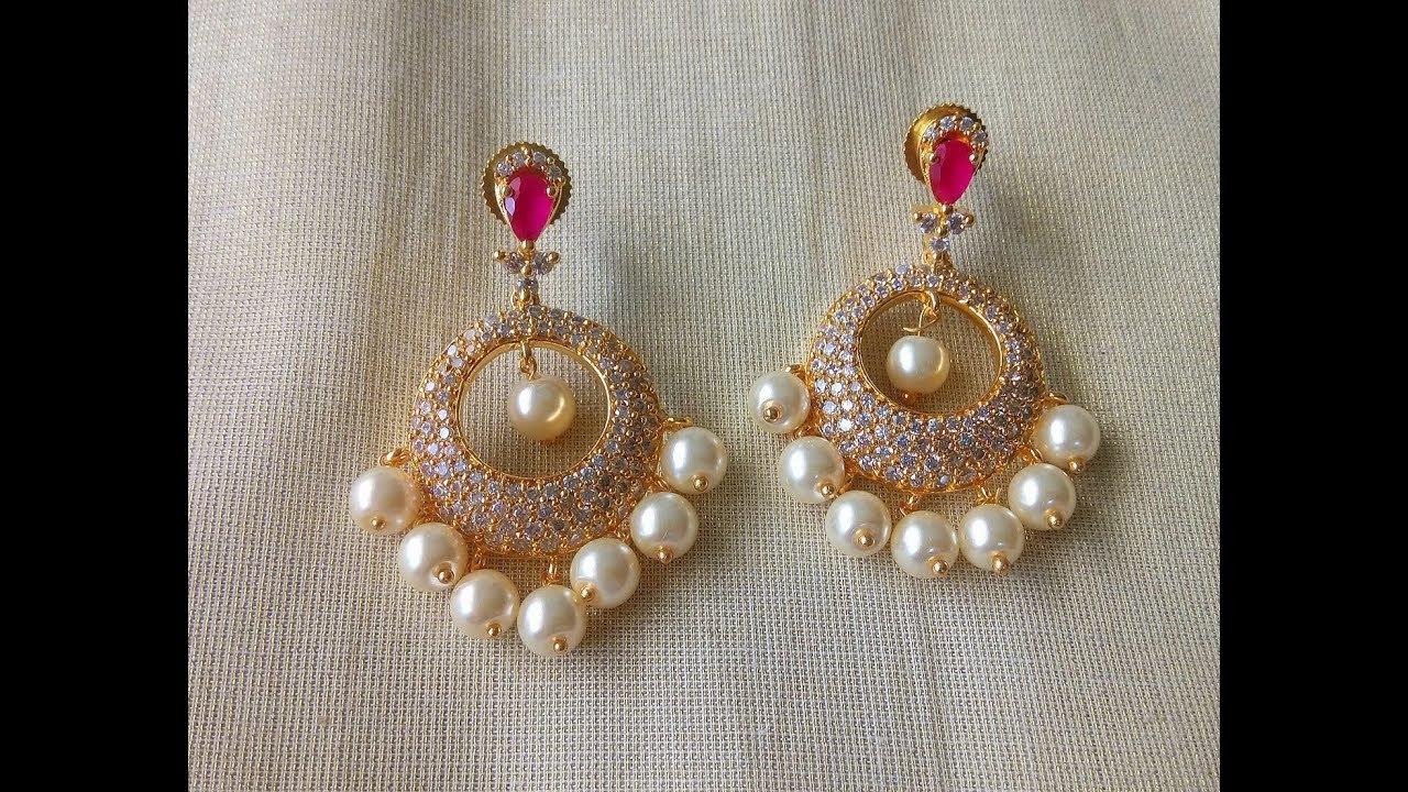 Top Beautiful Pearl Drop Earring Designs