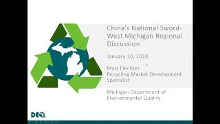 China's National Sword- West Michigan Conference Call