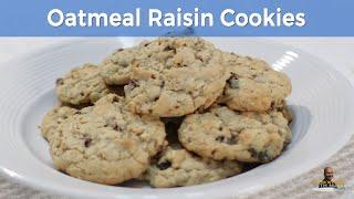 How to Make Oatmeal Cookies  Soft Chewy Oatmeal Raisin Cookies Recipe