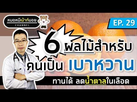 6 ผลไม้ลดน้ำตาลในเลือด สำหรับคนเป็นเบาหวาน | เม้าท์กับหมอหมี EP.29