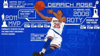 Derrick Rose's Infographic!