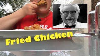 ASMR Eating Sounds - Fried Chicken