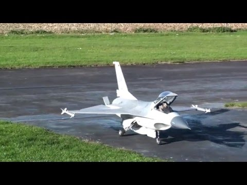 F16 C Falcon Skymaster RCJet  Jetcat P180RX