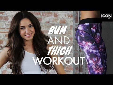 Bigger BUM + Toned THIGHS Danielle Peazer Workout Compilation