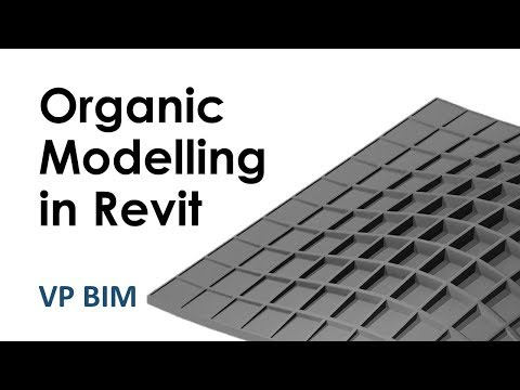 Revit Adaptive Components Organic modelling