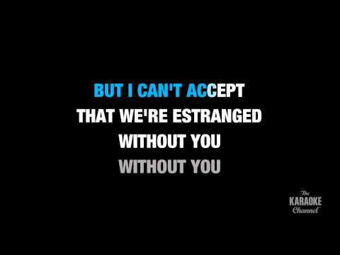 "Without You in the Style of ""David Guetta feat. Usher"" karaoke video with lyrics (no lead vocal)"