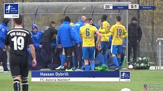 A-Junioren - 0:1 Hassan Dybrill - VfR Aalen gegen FC Astoria Walldorf