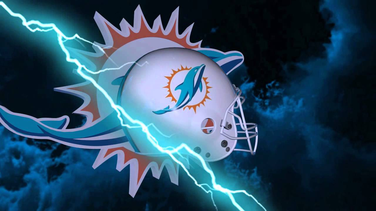 miami dolphins helmet and logo lightning experience youtube
