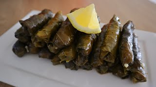 Dolma (Turkish Stuffed Grape Leaves) - Episode 483 - Baking with Eda