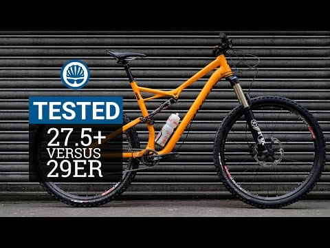 27.5+ Vs. 29er - Which Is Fastest?