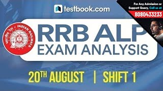 Video RRB ALP Exam Analysis | Questions Asked in 20th August Shift 1 - 2018 Railways Paper download MP3, 3GP, MP4, WEBM, AVI, FLV Agustus 2018