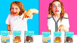 TWIN TELEPATHY CAKE CHALLENGE 2 | *hilarious* with The Norris Nuts SIS Vs BRO style