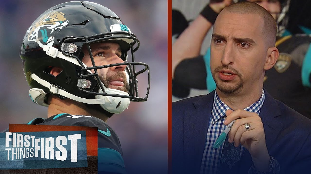 cris-carter-and-nick-wright-react-to-the-jaguars-benching-blake-bortles-nfl-first-things-first