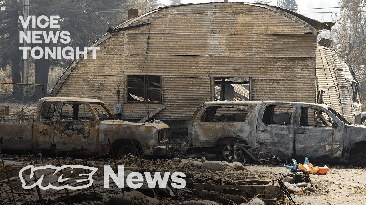The Prison Wildfire Evacuation That Led to a Riot VICE NEWS 25FEB21