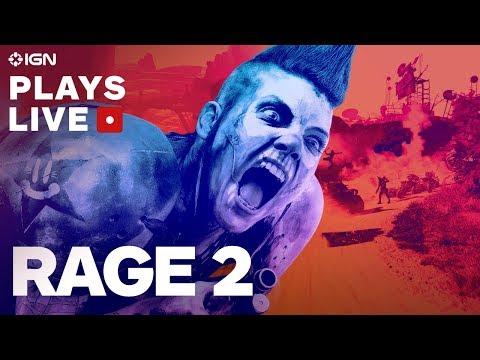 Rage 2-Livestream vor der Veröffentlichung - IGN spielt live + video