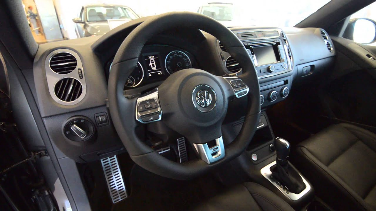 2014 volkswagen tiguan r line 4motion all new sport at trend motors vw in rockaway nj youtube. Black Bedroom Furniture Sets. Home Design Ideas