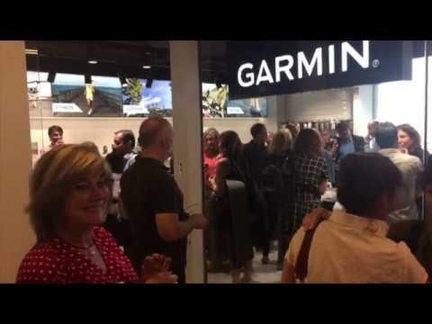 Inauguración 1ª store Garmin en Barcelona