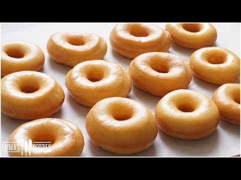 Melt In Your Mouth Glazed Donuts Recipe ( How to make the BEST Yeast Donuts ! ) Homemade Donuts
