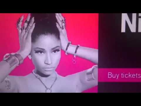 Nicki Minaj With Ariana Grande T-Mobile Arena Las Vegas April 7th Tickets
