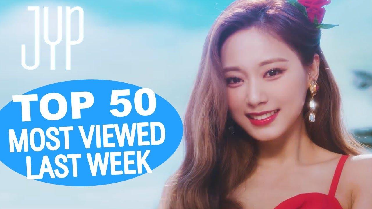 (TOP 50) MOST VIEWED JYP MUSIC VIDEOS IN ONE WEEK [20210607-20210614]