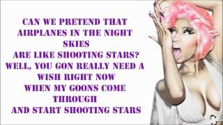 B.O.B. - Out Of My Mind (Feat. Nicki Minaj) Lyrics Video - Nicki