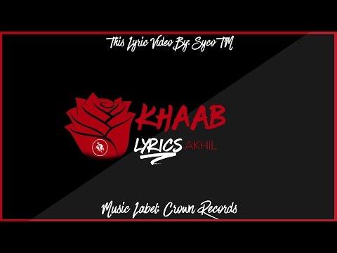 Khaab | Akhil Feat Parmish Verma | New Punjabi Song 2016 || Syco TM