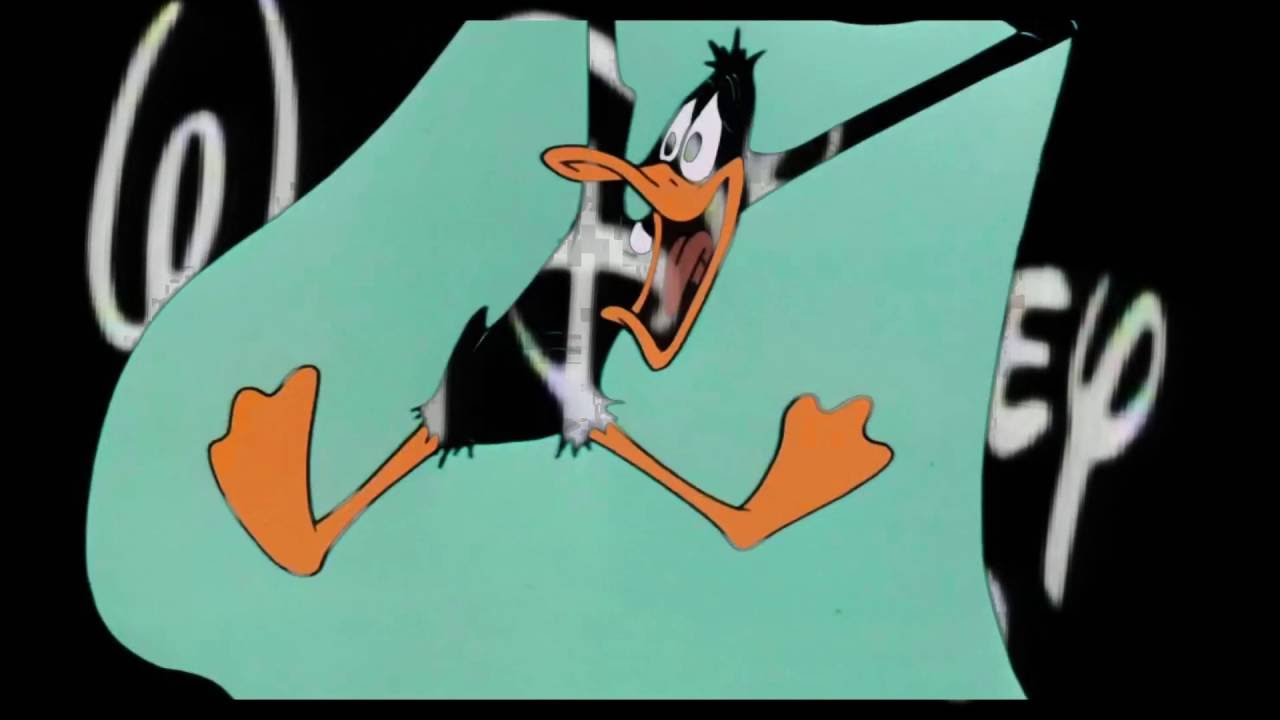 walt disney home video duck amuck variant youtube rh youtube com