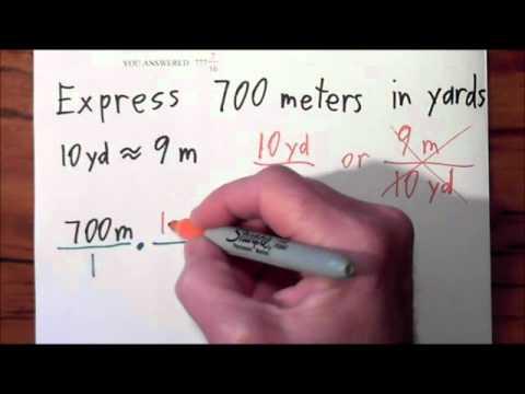 Hw U1 Convert Meters To Yards Wmv