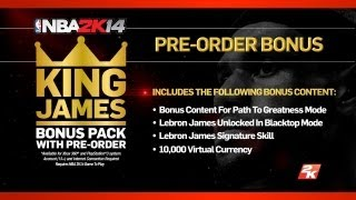NBA 2K14 - My Thoughts On Path To Greatness Mode + Pre-Order Bonus Talk & New Schedule - E3M13