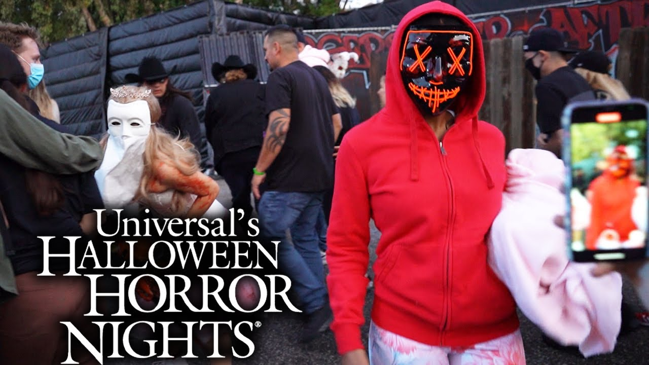 Halloween Horror Nights 2021 at Universal Studios Hollywood   All Mazes & Scare Zones