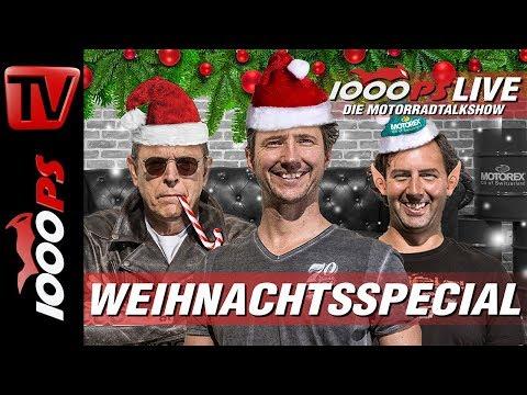 1000PS Live - Die Motorradtalkshow - Weihnachtsspecial mit Zonko, NastyNils und Vauli