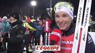 Premier podium pour Anaïs Bescond - Biathlon - CM