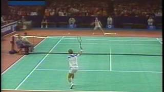 1984(Jan) Masters SF McEnroe vs Wilander