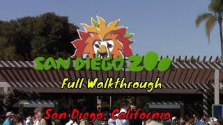 San Diego Zoo Full Tour  San Diego, California