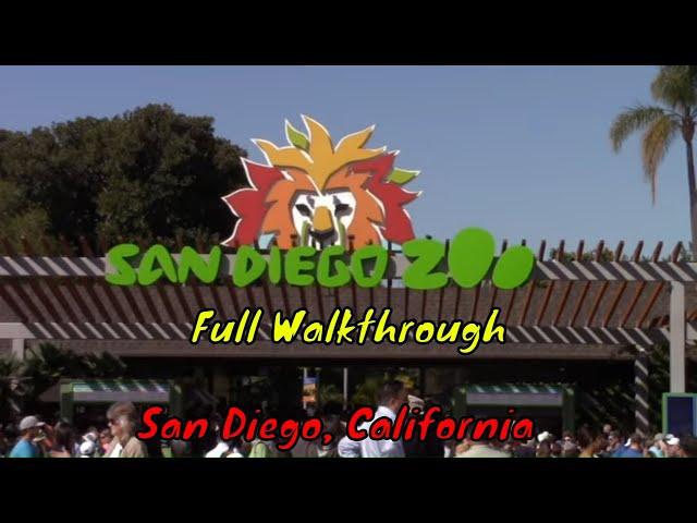 San Diego Zoo Full Tour - San Diego, California
