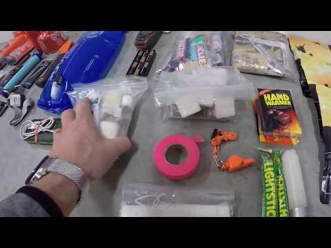 My Aircraft Camping / Survival Kit
