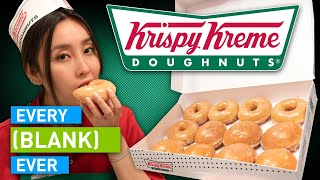 Every Krispy Kreme Ever