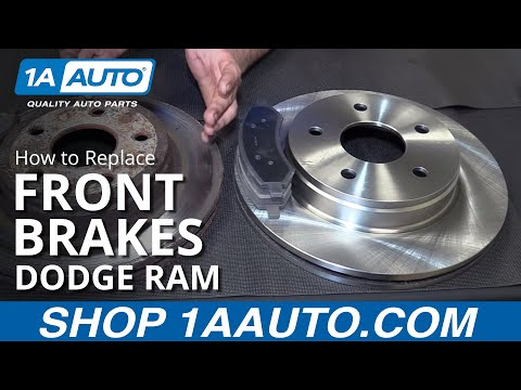 How to Replace Front Brakes 06-08 Dodge Ram 1500
