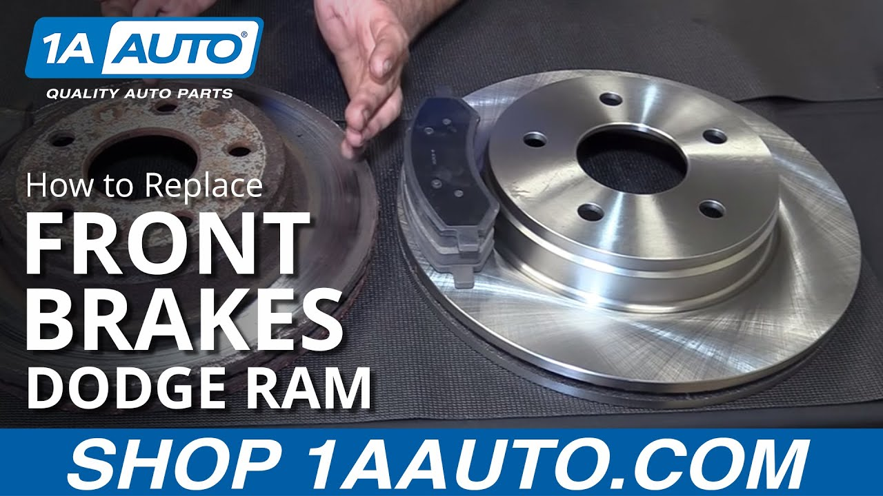 How to Replace Install Front Brakes Pads Rotors 200608