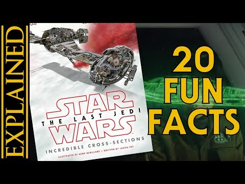 20 Fun Facts from The Last Jedi Incredible Cross Sections