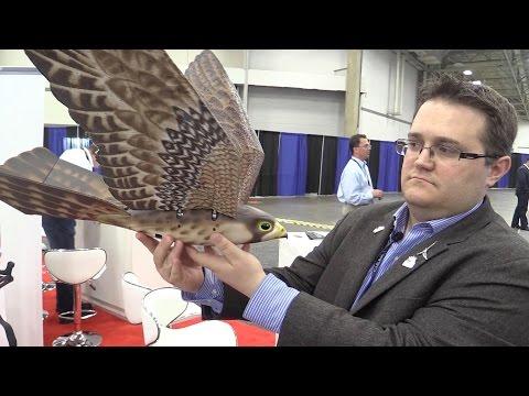 Aerium's Robird Ornithopter Drone V3