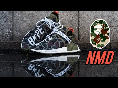The Best Custom Bape Human Race NMD - Customs with Vick