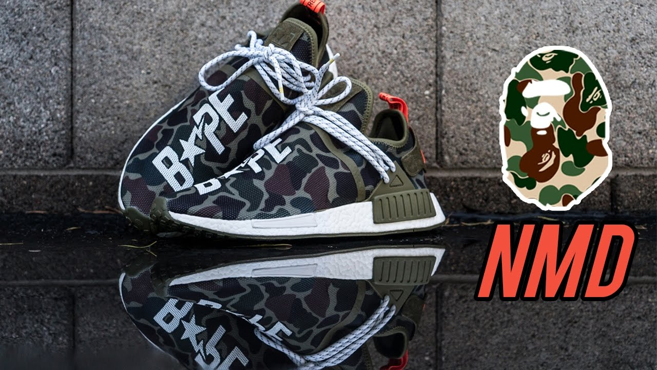 release date: 4f397 8ae7e The Best Custom Bape Human Race NMDs - Customs with Vick
