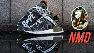 The Best Custom Bape Human Race NMDs - Customs with Vick