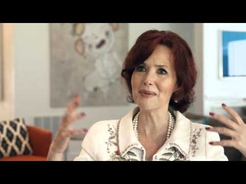 """In Close Up"" with Janine Turner for 'Occupy, Texas'"